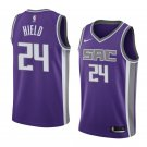 2019 MenS Buddy Hield Jersey Sacramento Kings #24 Icon Edition