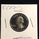 "1977 - s liberty quarter ""Proof"""