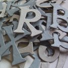 Glitter Winter Chipboard Letters Scrapbooking