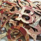 Motifica Chipboard Letters Scrapbooking