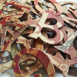 Motifica Chipboard Letters Scrapbooking