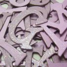 Fairy Dust Chipboard Letters Scrapbooking