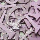 Fairy Dust Chipboard Letters Scrapbooking