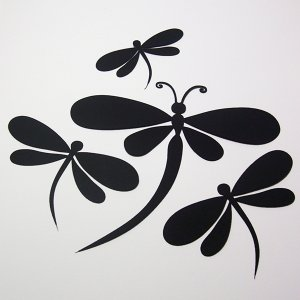 Dragonflies - Die Cuts Scrapbooking
