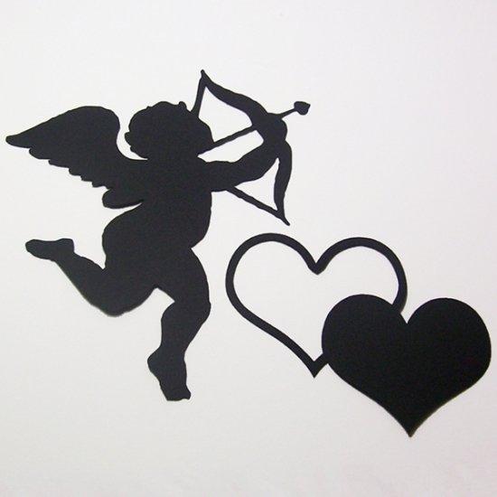 Cupid & Hearts - Die Cuts Scrapbooking