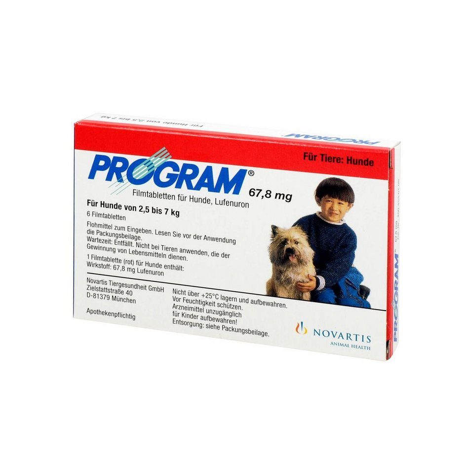 Program Tablets For Dogs 67.8mg 2.3-6.7kg x 6