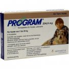 Program Tablets For Dogs 204.9mg 6.8-20kg x 6