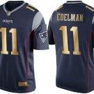 Men's New England Patriots #11 Julian Edelman Navy 2018 Super Bowl LII Jerseys