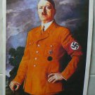 Adolf Hitler portrait on canvas