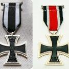 WW1-WW2 Iron Cross 2nd Class Eisernes Kreuz 2 . 1914-1939 2 pcs.