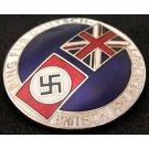 German-British Alliance Badge .nazi. 3 Reich