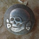 WW2.De waffen ss badge for cap. THIRD REICH
