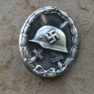 WWII THE GERMAN BADGE Wound Badge (silver)Third Reich. Nazi.