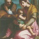 Florentine School - THE BARBERINI HOLY FAMILY