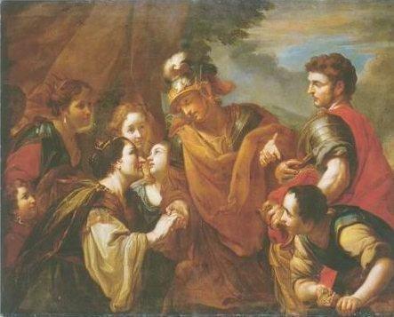 Antonio Molinari - THE FAMILY OF DARIUS BEOFER ALEXANDER THE GREAT