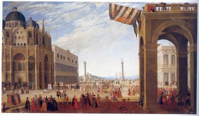 Joseph Heintz II - BACINO FROM THE PIAZZA SAN MARCO