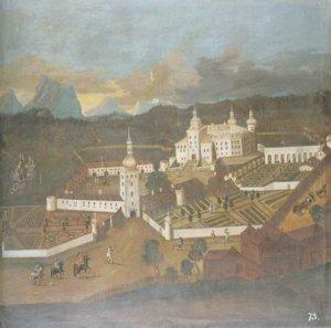 Austrian School - A  VIEW OF PUCHHEIN CASTLE