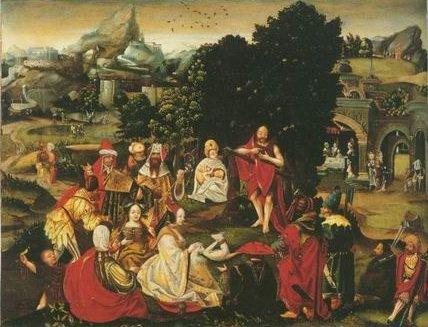 School of Antwerp - THE PREDICATION OF THE BAPTIST