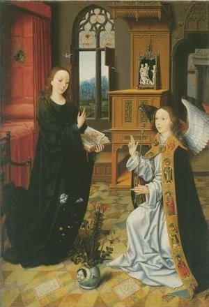Jan Provoost - THE ANNUNCIATION