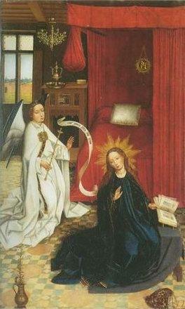 Roger Van Der Weyden - THEN ANNUNCIATION