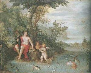 Jan Van kessel I - AN ALLEGORY OF WATER