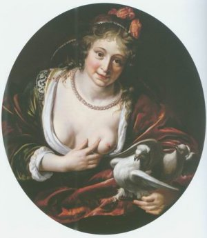 Paulus Moreelse - VENUS WITH TWO DOVES