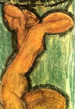 Amedeo Modigliani - CARYATID. 1913/14