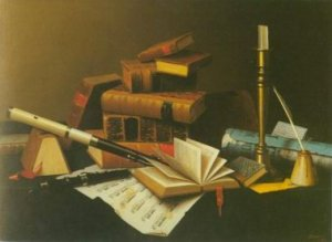 William Harnett - MUSIC AND LITERATURE