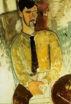 Amedeo Modigliani - PORTRAIT OF CHAIM SOUTINE