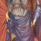 Sir Edward Coley Burne-Jones - A MUSICAL ANGEL