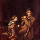 Eastman Johnson  - LEARNER OF THE FIFERS