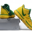 Men's Kyrie Irving Kyrie 5 Basketball Shoes Yellow Green