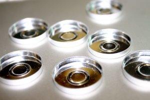 empty eyeshadow Mac Pan Empties Tins Pressed Palette Pigments   15