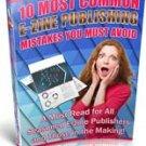 Most Common Ezine Publishing Mistakes