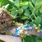 Small Fairy Landscape with river and cottage
