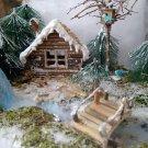 Winter Scene Forest Fairytale