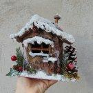 Christmas fairy snowy cottage