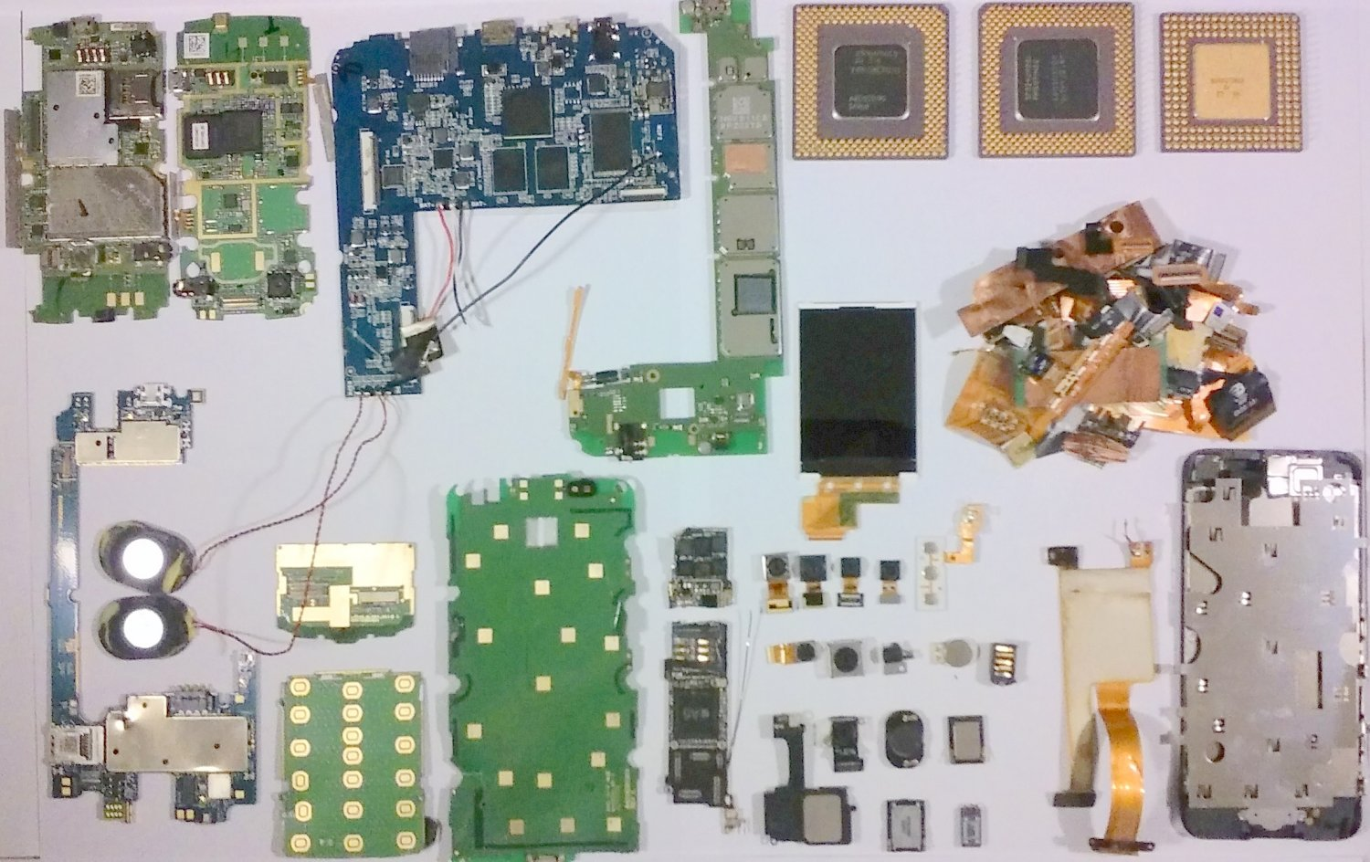 Cellphone Scrap Recovery