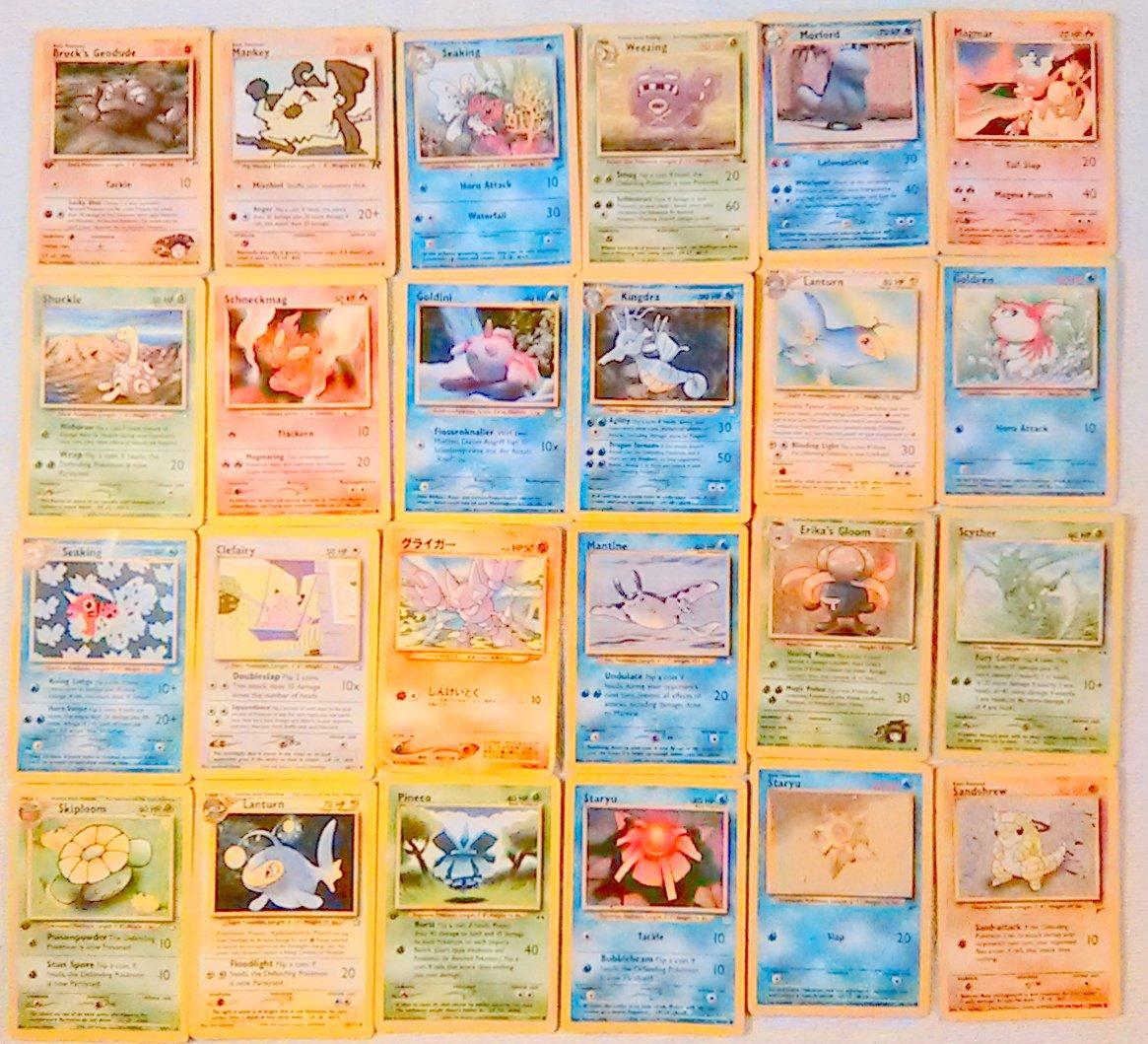 Pokemon  Pokemon Card Lot 95- 2000