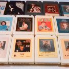 Vintage Mix 8 track Tape Music Lot