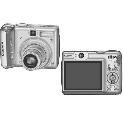 Canon PowerShot A570 IS 7.1MP (w/ 2GB SD Card) - 1773B001