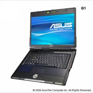 Asus G1S-1A - Intel Core 2 Duo T7500, 2 GB RAM, 160 GB HD, Vista Premium - 90NLBA6132413CQL400T