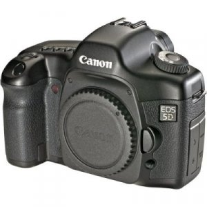Canon EOS 5D 12.1 MP (w/ 4GB CF Card) - Body Only - 0296B002