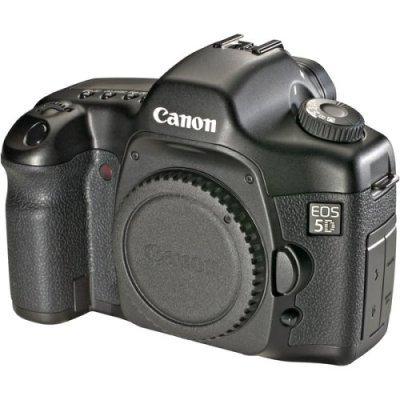 Canon EOS 5D 12.1 MP w/ BG-E4 Battery Grip (w/ 4GB CF Card) - 0296B002