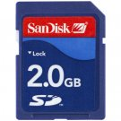 SanDisk 2GB SD Memory Card 2-Pack **(Double Pack = 8GB Total)** - SDSDB2-2048-A11