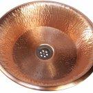 Polished Bathroom Natural Copper Pan Panning Vessel Sink House Remodel Renewal