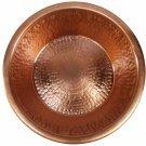 Polished Copper Present Pot Planter Centerpiece Manicure Hand Foot Soak Bowl
