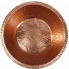 Portable Copper Foot Rub Soaking Bath Wash Massage Spa Therapy Pedicure Bowl