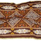 Ethnic Tribal Egyptian Ramadan Checkers Lotus Fabric Pillows Bags Handcrafts