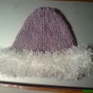 05A Girls Hat  Ostrich Trim